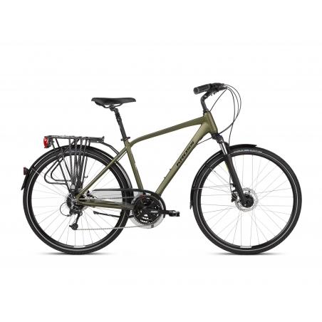 Rower Trekkingowy Kross Trans 5.0 - khaki - 2021
