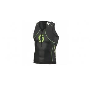 Koszulka triathlonowa SCOTT Plasma - black/green