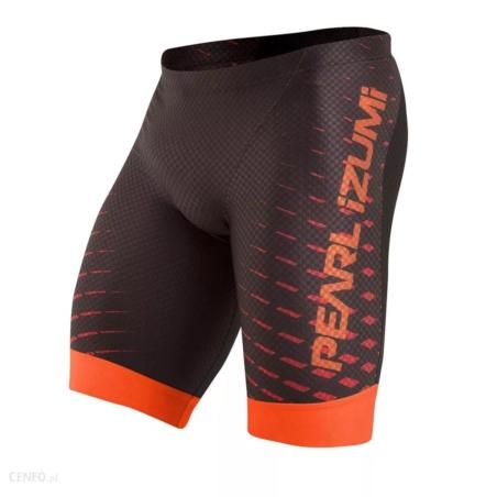 Spodenki PEARL IZUMI PRO Tri - black/red/orange