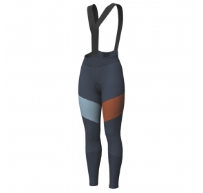 Spodnie damskie SCOTT RC Warm WB +++, blue/brown