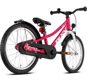 Rower dziecięcy PUKY Cyke 18 - berry/white