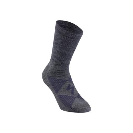 Skarpetk zimowei SPECIALIZED Merino Wool grey