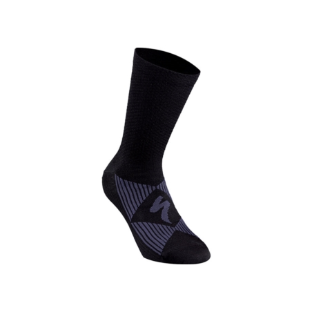 Skarpetki SPECIALIZED Merino Wool black