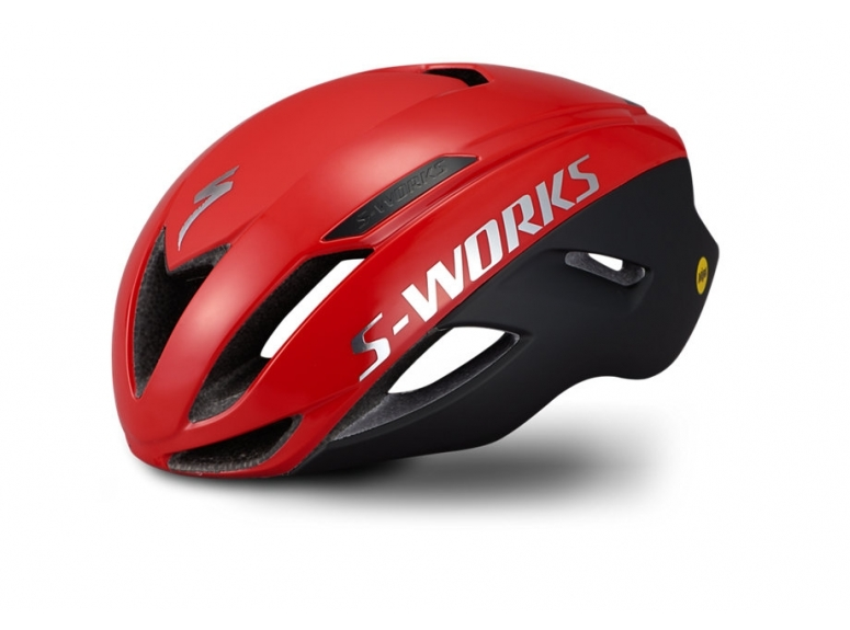 Kask SPECIALIZED S-Works Evade z ANGI - flo red - 1