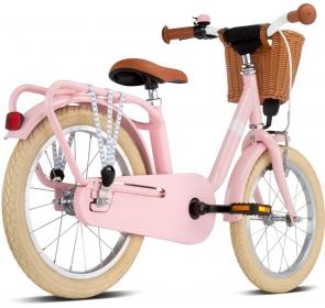 Rower dziecięcy PUKY Steel Classic 16 - retro/rose