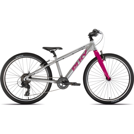 Rower dziecięcy PUKY LS-Pro 24-8 - silver/berry