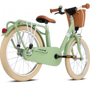 Rower dziecięcy PUKY Steel Classic 18 - retro/gree