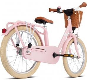 Rower dziecięcy PUKY Steel Classic 18 - retro/rose