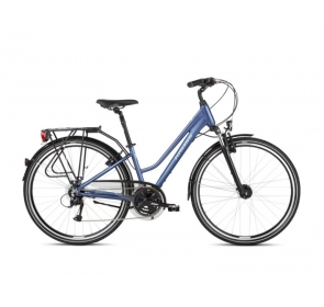 Rower Trekkingowy KROSS Trans 4.0D-nie/bia-2021