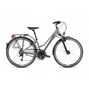 Rower Trekkingowy KROSS Trans 4.0D-graf/bia-2021