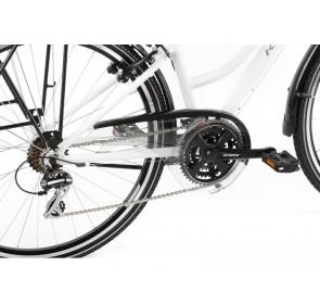 Rower Trekkingowy KROSS Trans 3.0D - biały-2021