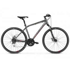 Rower Crossowy Kross Evado 4.0M - grafit/cze -2021