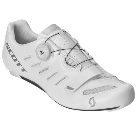 Buty rowerowe SCOTT Road Team Boa white/silver