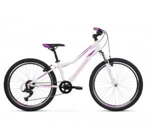 Rower dziecięcy KROSS Lea JR D SR -bia/roz-2021