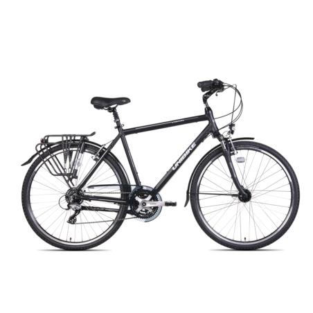 Rower Trekingowy męski UNIBIKE VISION-czarny-2021