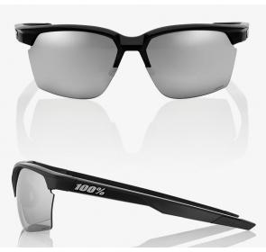 Okulary 100% SPORTCOUPE Matte Black - HiPER Silver