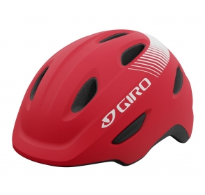 Kask dziecięcy juniorski GIRO SCAMP bright red