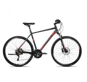 Rower Crossowy UNIBIKE Zethos - czarno/czer-2021
