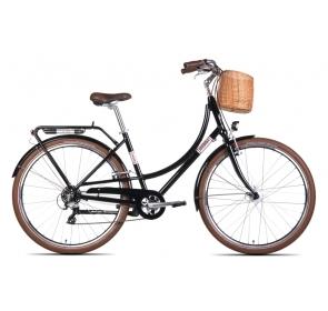 Rower Trekkingowy UNIBIKE CTIZEN 7 -czarny-2021