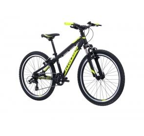 Rower dziecięcy KROSS DUST JR - czarno/żółty -2021