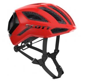 Kask rowerowy SCOTT Centric Plus - fiery red