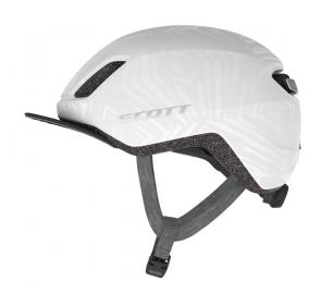 Kask rowerowy SCOTT II Doppio Plus pearl white