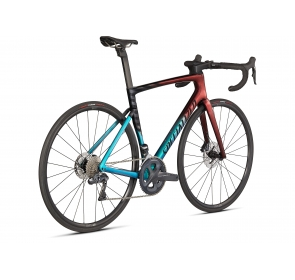 Rower Szosowy SPECIALIZED Tarmac SL7 Expert - Ultra Turquoise/Red Gold Pearl/Black - 2021 - 3