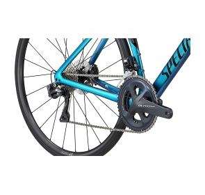 Rower Szosowy SPECIALIZED Tarmac SL7 Expert - Ultra Turquoise/Red Gold Pearl/Black - 2021 - 5
