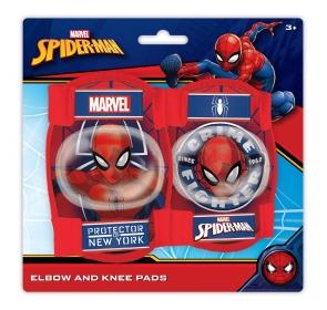 Ochraniacze rowerowe dziecięce - SPIDER-MAN