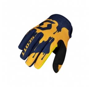 Rękawice dziecięce SCOTT 250 Swap - blue/yellow