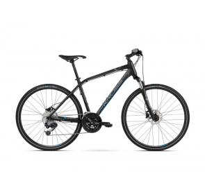 Rower crossowy KROSS Evado 6.0 M - czarno/niebieski - 2021 - 3