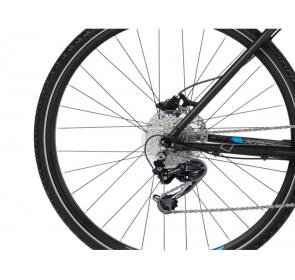 Rower crossowy KROSS Evado 6.0 M - czarno/niebieski - 2021 - 4