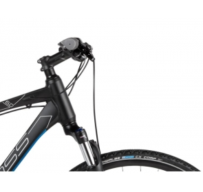Rower crossowy KROSS Evado 6.0 M - czarno/niebieski - 2021 - 5