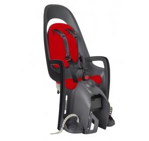 Fotelik na bagażnik Hamax Caress szary-czerwony