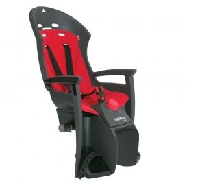 Fotelik na bagażnik Hamax Siesta - szaro/czerwony