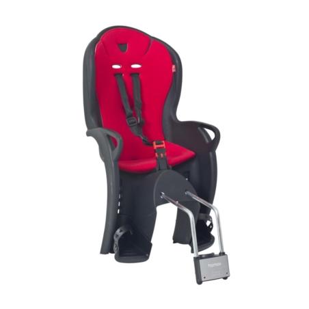 Bagażnik na ramę HAMAX KISS - czarno/czerwony
