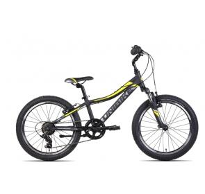 Rower dziecięcy UNIBIKE PILOT - czarno/żółty