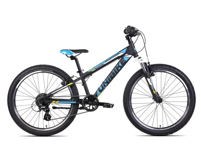 Rower Dziecięcy UNIBIKE Raptor - czarno/niebieski