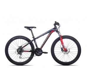 Rower górski MISSION 27,5 - czarno/czerwony 2021