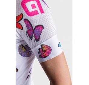 Koszulka damska ALE PRR Butterfly - Bianco/White