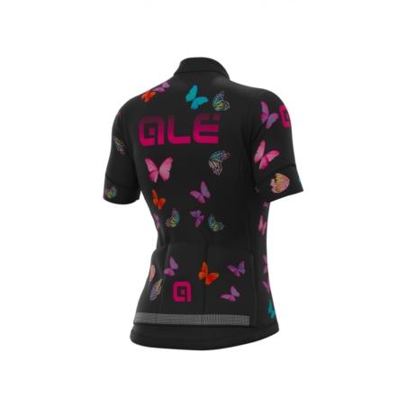 Koszulka Alé Cycling Graphics PRR Butterfly - blac