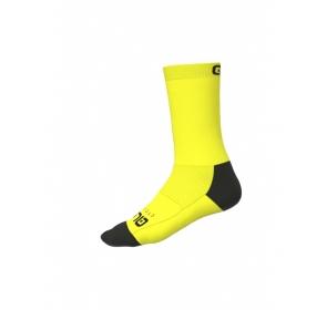 Skarpetki rowerowe Alé Cycling Team - Flou Yellow