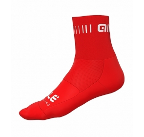 Skarpetki rowerowe Alé Cycling Strada Q-Skin - red