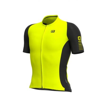 Koszulka  Alé Cycling R-EV1 Race 2.0 - Flou/yellow