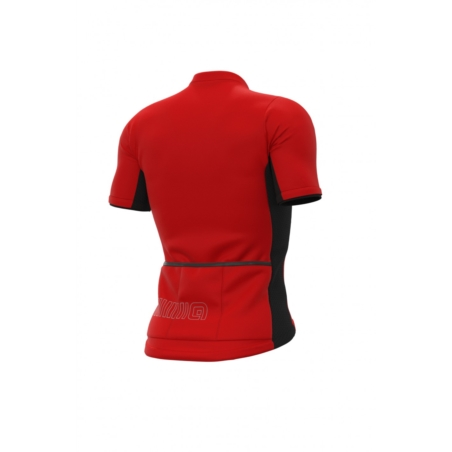 Koszulka Alé Cycling Solid Color Block - ross/red