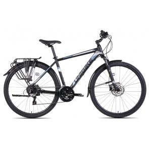 Rower Crossowy m UNIBIKE FLASH EQ-czarno/grafitowy
