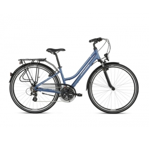 Rower Trekkingowy damski KROSS 2.0 - niebieski