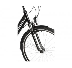 Rower Trekkingowy damski KROSS Trans 1.0 - czarny