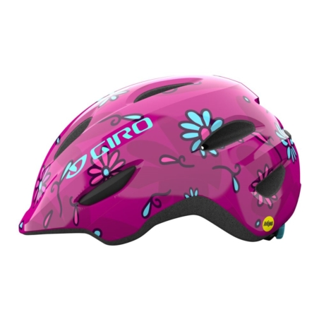 Kask dziecięcy GIRO SCAMP pink street sugar daisie