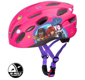 KASK ROWEROWY IN-MOLD AVENGERS - GIRLS pink